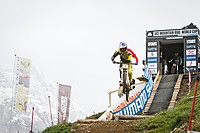 Downhill Weltcup beim Out Of Bounds Festival in Leogang Dateiname: DH_WorldCup_Gee_Atherton_by_Michael_Marte.jpg