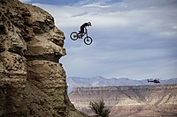 Red Bull Rampage 2015: Andreu Lacondeguy Dateiname: Red_Bull_Rampage_15_Andreu_Lacondeguy_Action_c_Christian_Pondella_Red_Bull_Content_Pool.jpg